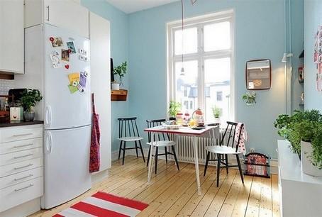 Скандинавский цвет стиль стен
