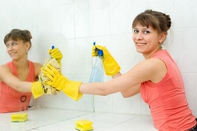 Как помыть зеркало без разводов, Домфронт