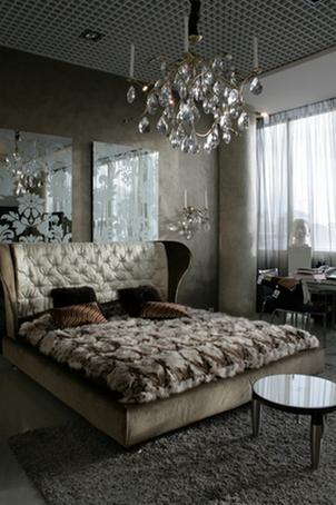 зеркала в изголовье кровати