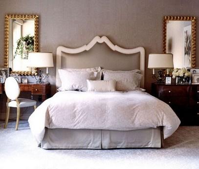 настенные зеркала в спальне