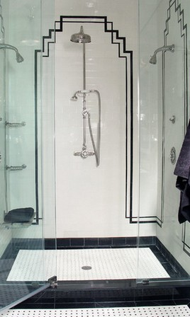 ванная ар-деко