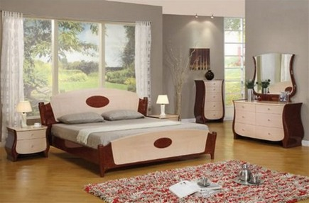 спальня ар-деко