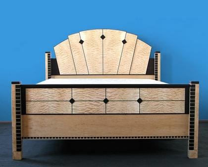 кровать ар-деко