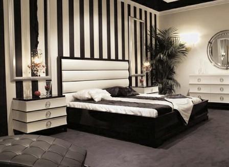 спальня в стиле ар-деко