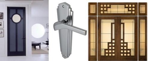 двери в стиле ар-деко