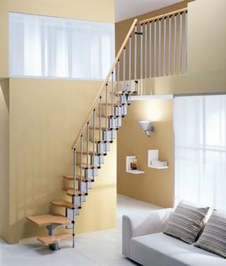 лестница на второй этаж в современном стиле