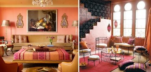 интерьеры в марокканском стиле