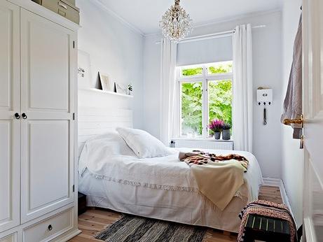 маленькая спальня: планировка