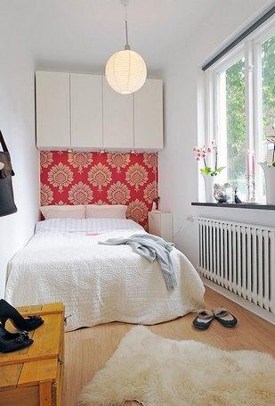 маленькая спальня: как сэкономить место