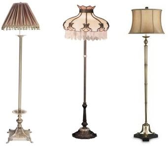 напольные светильники в классическом стиле