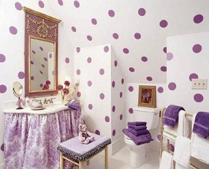 ванная в стиле кантри