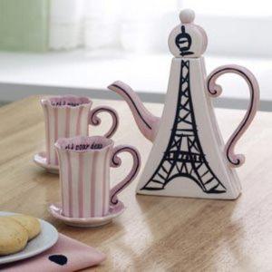 декор кухни в стиле французского кафе