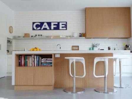 как оформить кухню в стиле кафе