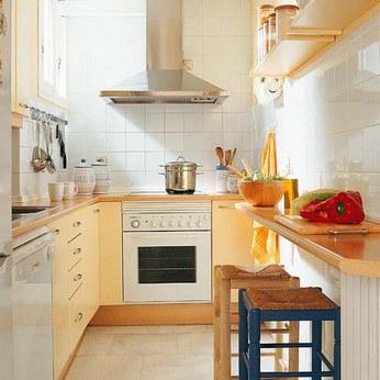 столик-стойка для узкой кухни
