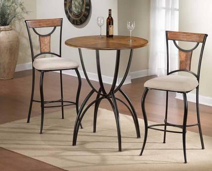 столик в стиле кафе