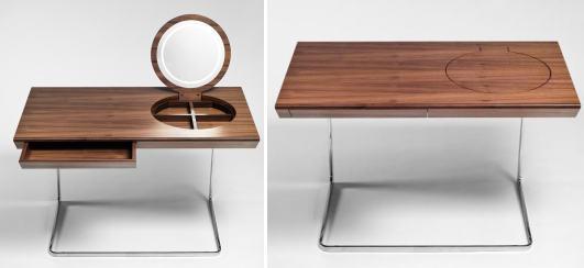 рабочий стол с зеркалом