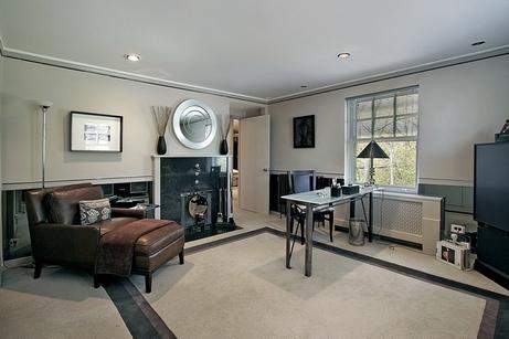 стильный домашний кабинет