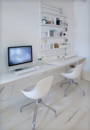 дизайн мини кабинета дома