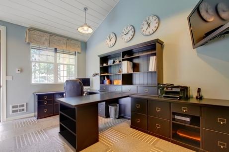 домашний кабинет в отдельном помещении