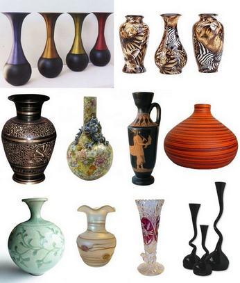 вазы для интерьера