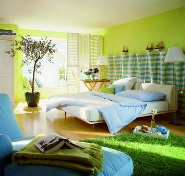 спальня во экостиле
