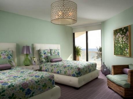 спальня во природном стиле