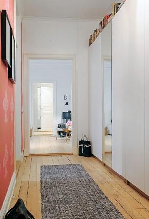 коридор в скандинавском стиле