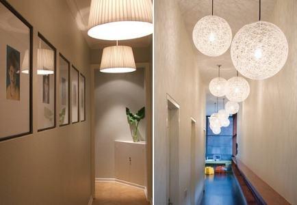 люстры для коридора фото