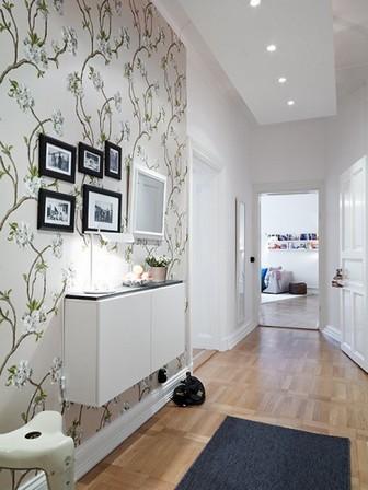 интерьер коридора в современном стиле