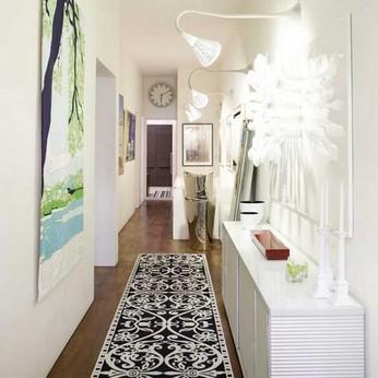 красивый светлый коридор