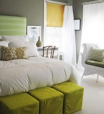 пуфики для спальни