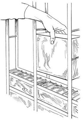монтаж стеклоблоков