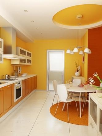 дизайн обеденной зоны в кухне