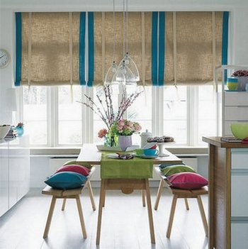 дизайн столовой в кухне