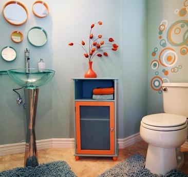 круглые зеркала для декора стен