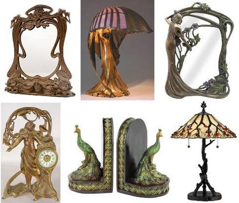 предметы декора в стиле модерн
