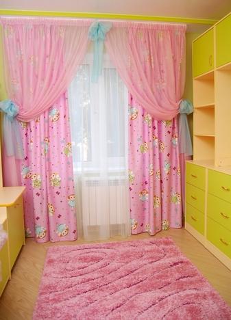 сочетание розового и зеленого