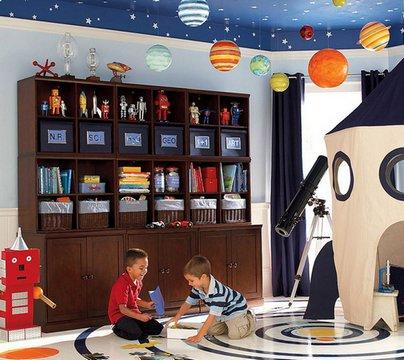 потолок для комнаты мальчика
