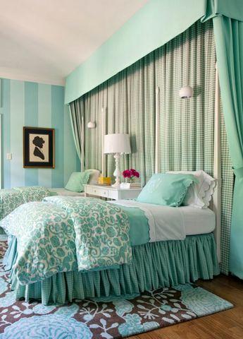 мятная спальня