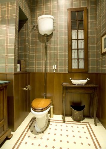 туалет в старинном стиле