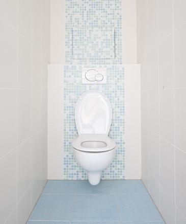 отделка туалета: варианты