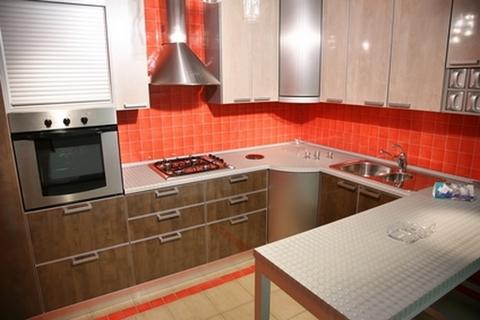 Сочетание цветов в кухонной мебели Домфронт