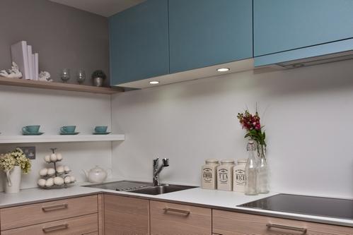 сочетание цветов в кухне