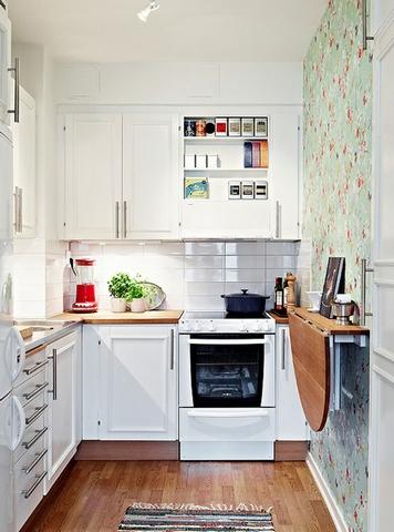мини столик на узкой кухне