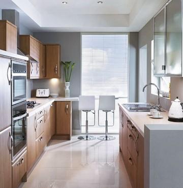 мебель на узкой кухне