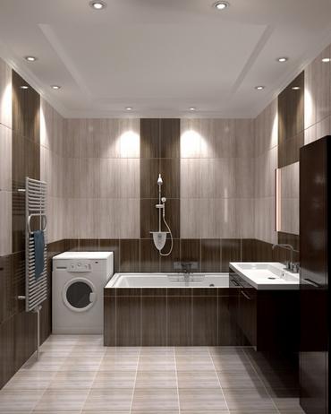 какой дизайн потолка для ванной выбрать