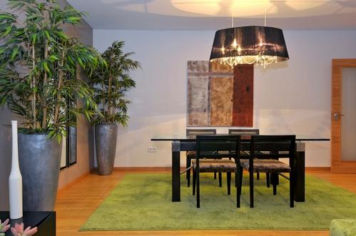 природные мотивы в интерьере квартиры в европейском стиле