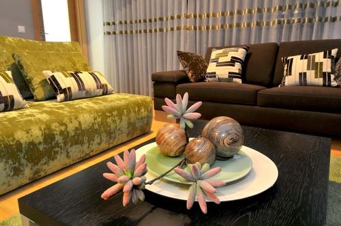 декор евпропейской квартиры в природном стиле