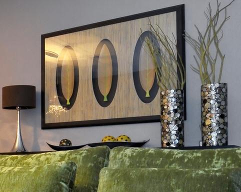 декор квартиры с природными мотивами