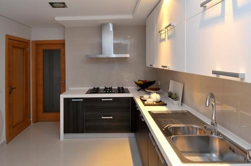 европейский дизайн квартиры в природных тонах